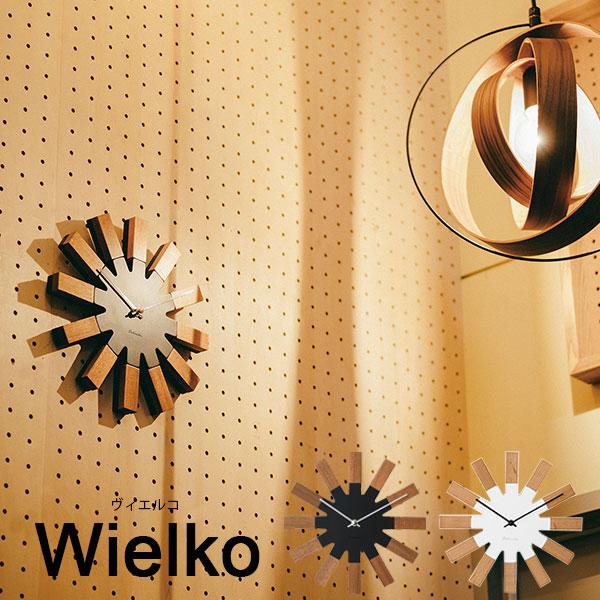 壁掛け時計 掛け時計 かわいい 時計 ウォールクロック 壁掛け スイープムーブメント アナログ時計 おしゃれ 掛時計 かけ時計 モダン 木製 インテリア プレゼント 贈り物 新築祝い ブラック ホワイト