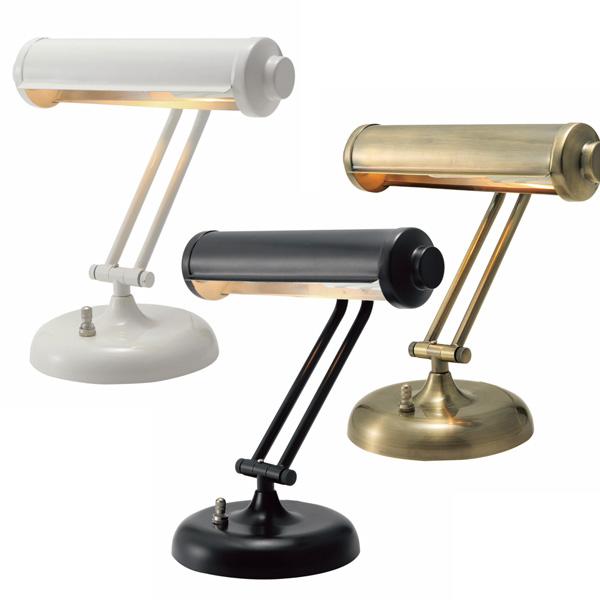 デスクライト テーブルライト おしゃれ 学習机 可愛い レトロ テーブルランプ アンティーク モダン 北欧 洋風 テーブルスタンド 卓上ライト 卓上ランプ 卓上照明 デスクスタンド デスク ライト 照明 スタンド LT-4948 ROCHERI テーブルライト ホワイト ブラック ゴールド