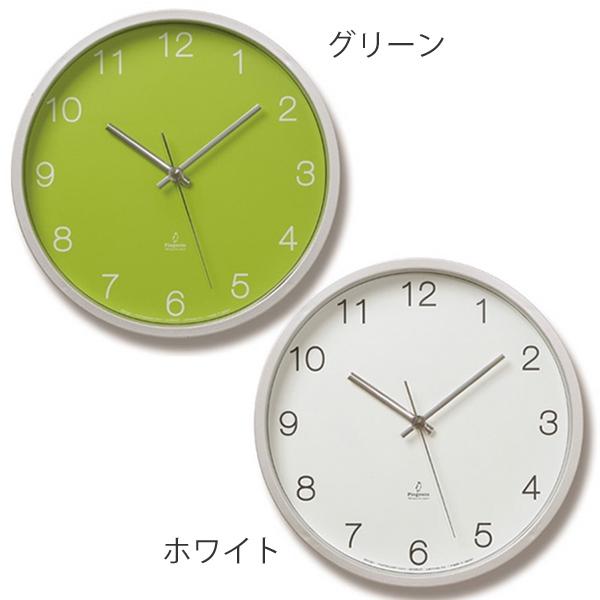 電波時計 掛け時計 置時計 北欧 電波 置き時計 おしゃれ 時計 壁掛け アナログ 壁掛け時計 見やすい ウォールクロック 電波壁掛け時計 オフィス 電波掛時計 掛け 置き 両用 スタンド付き置き時計 Basic clock ベーシッククロック PC06-25W グリーン ホワイト Lemnos レムノス