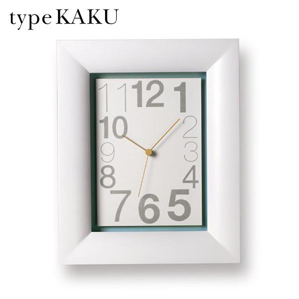 壁掛け時計 デザイン時計 掛け時計 おしゃれ 壁時計 アンティーク 四角 北欧 レトロ クラシカル シンプル ウォールクロック スイープムーブメント 連続秒針 掛時計 寝室 インテリア時計 アナログ リビング インテリア 雑貨 GRL11-03 type KAKU タイプ カク 角型