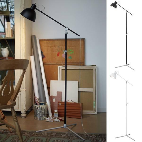 フロアスタンド スタンドライト おしゃれ モダン 北欧 スタンド照明 フロアライト インテリア照明 シンプル  間接照明 寝室 スタンド ソーホー インテリアライト フロアランプ フロアスタンドライト Soho-floor lamp ブラック ホワイト アートワークスタジオ