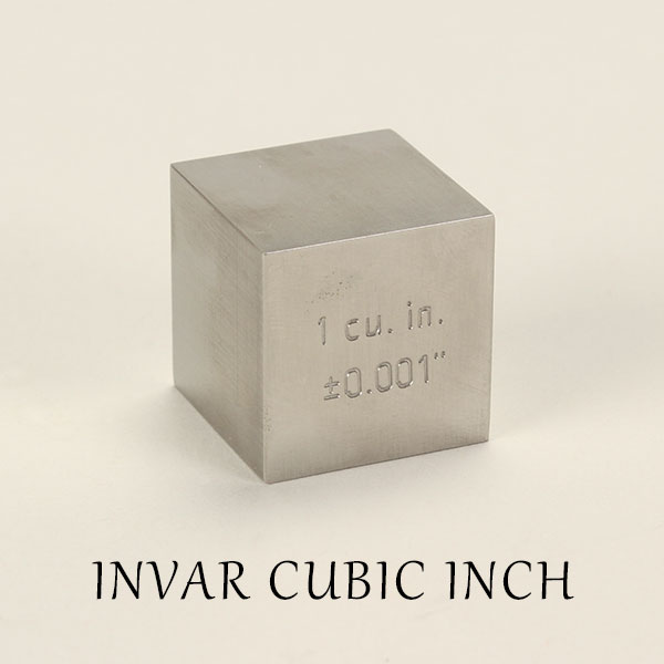 置物 インテリア雑貨 ペーパーウェイト 文鎮 デスクオブジェ インバー 合金 立方体 立法インチ キューブ シンプル INVAR CUBIC INCH インバーキュービックインチ