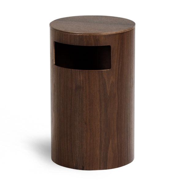 ゴミ箱 ごみ箱 ふた付き 木製 ダストボックス saito wood ナチュラル 蓋付きゴミ箱 ゴミ箱 ふた付き ごみばこ ゴミばこ おしゃれ 北欧 リビング ダイニング ダストボックス  ダストBOX サイトーウッド 990WN TABLE&DUST BOX ウォールナット