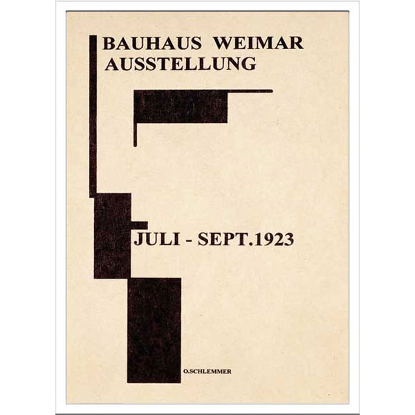 ポスター アート 壁掛け 装飾 壁面アート モダン アートパネル おしゃれ 額 アートフレーム アート フレーム 雑貨 壁 飾る Bauhaus バウハウス IBH 70039 Bauhaus Weimar Ausstellung 1923  北欧 モダン トイレ 寝室 ダイニング リビング 子供部屋 インテリア カフェ