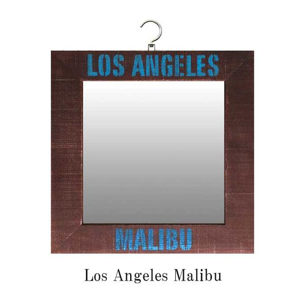 壁掛け ミラー 姿見 鏡 アンティーク 吊り下げ 壁面ミラー 北欧 壁掛けミラー ウォールミラー 正方形 おしゃれ 木製 レトロ 壁掛 シャビー カフェ 掛けミラー 壁掛ミラー デザイン 洗面 壁 雑貨 壁面 飾り 天然木 木製 フレーム ギフト MCF50978 Mirrer Los Angeles Malibu