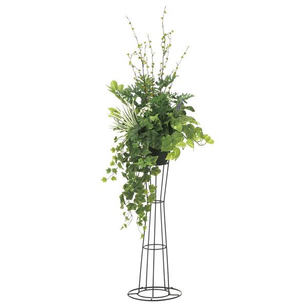 人工観葉植物 光触媒 観葉植物 フェイクグリーン インテリア 人工植物 高さ145cm 消臭 抗菌 防汚 グリーンスタンド