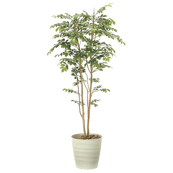 人工観葉植物 光触媒 観葉植物 フェイクグリーン インテリア 人工植物 高さ180cm 消臭 抗菌 防汚 マウンテンアッシュ