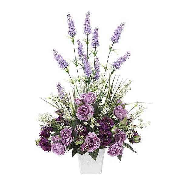 造花 光触媒 観葉植物 インテリア 人気 おしゃれ アートフラワー ギフト 花 ラベンダー パープル