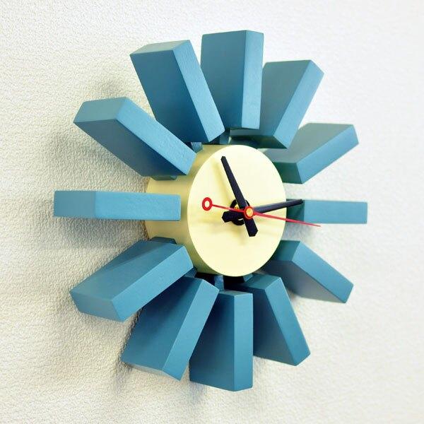 壁掛け時計 見やすい デザイナーズ時計 ジェネリック家具 掛時計 リプロダクト品 ブロッククロック CL-06 ジョージ・ネルソン George Nelson ネルソンクロック 復刻版 おしゃれ デザイナーズ デザイナー デザイン クロック ウォールクロック アナログ 時計 壁掛け 掛け時計
