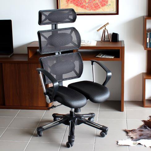 オフィスチェア pcチェアー ハイバック パソコンチェア パソコンチェアー デスクチェア メッシュ アームレスト オフィスチェアー リクライニング 骨盤矯正 椅子 姿勢 キャスター チェア オフィス 健康チェア  HARA Chair ハラチェア Doctor Fresh ドクターフレッシュ