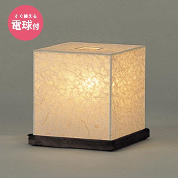 スタンドライト 照明 1灯 電球付き 日本製 和紙 おしゃれ 間接照明 角型 四角形 テーブルライト フロアライト フロアスタンド 和室 和風 寝室 アジアン スタンド WB-134 ミニスタンド 木製ベース インテリア レトロ 和モダン シンプル 旅館 ホテル 高級 ディスプレイ 飾り