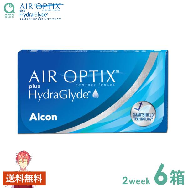 送料無料 エアオプティクスアクア 2ウィーク 6枚×6箱 アルコン ALCON 使い捨て