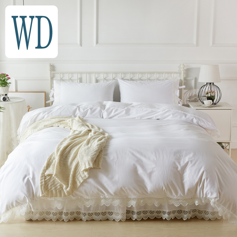 Bedspread Antique Lace Bedspread 4 Points Set BETT BETT 2 Pillow Case Bed Skirt Rates 4 Piece Set Bedspread White White Bed Skirt Skirt Bed Cover