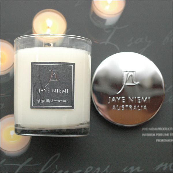 """JAYE NIEMI ジェイニエミ scented candles (natural essential oils use ) Australia aroma brand """"JAYE NIEMI fragrance candle"""