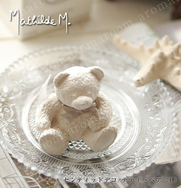 Mathild em centioddeco / Teddy bear (L) / nunursucentioddeco France brand Mathilde M ★ Teddy L size