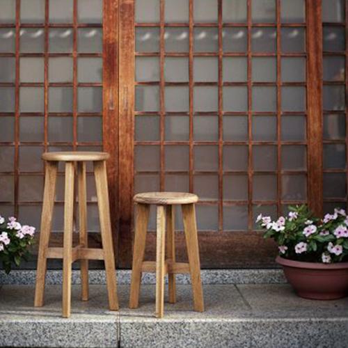 松野屋 丸椅子 小[ラッピング不可] [同梱不可]