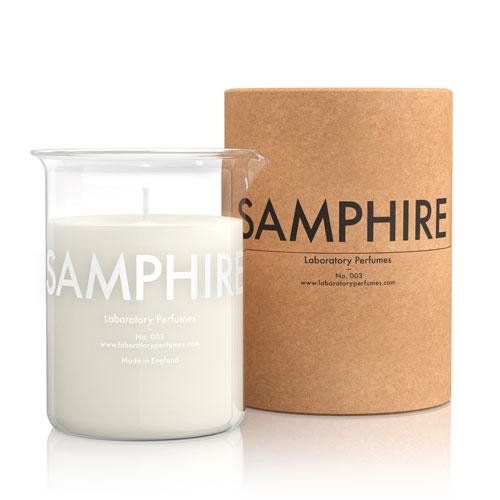 【現品限り】Labortory Perfumes キャンドル サンファイア Samphire (ハーバルウッディ Herbal Woody) Candle ラボラトリー パフューム◆aroma/アロマ/fragrance/フレグランス/ろうそく/芳香/ギフト【送料無料】
