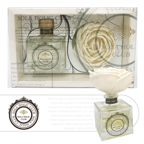 SOLA HOLIC CLUB blooming diffuser brain Lords Blanc Rose solajorick Club ◆ Sola Flower contents: Sola flower, and aromatherapy gifts and fragrance sticks / fragrant rose-10P13Dec14