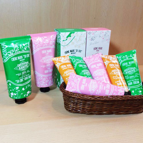 INSTITUT KARITE 20%护手霜30ml玫瑰Nourishing Hand Cream ansutiteyu·karite Shea Travel份额旅行系列ROSE◆研究所/美体保养●
