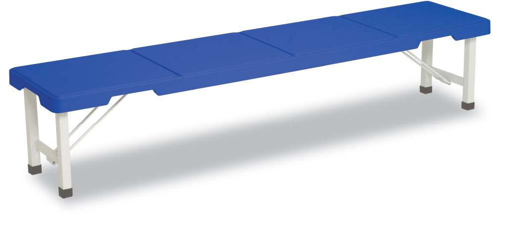 【最大1000円割引クーポン発行中】スタッキングブローベンチ1800(ブルー)BC-305-518~テラモト~『樹脂製ベンチ』【代引き不可】