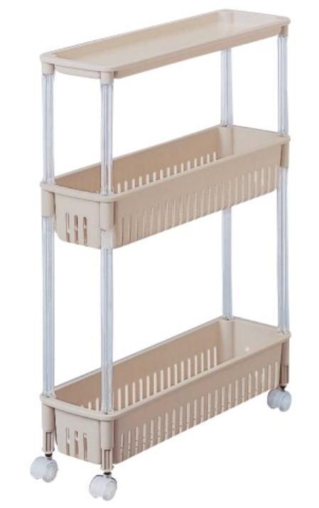 キッチンの整理に便利なテーブル付ワゴン ルーチェワゴン TPW‐1121~サンコープラスチック~ 返品不可 サービス