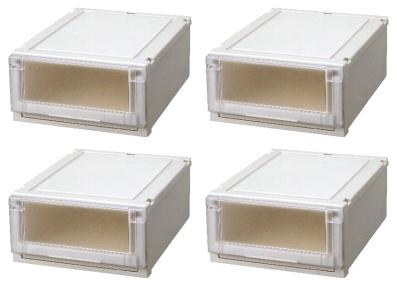 【最大1000円割引クーポン発行中】天馬 (Fits)フィッツユニットケース4020お買い得4個セット新しい発想と知恵が、「収納ケース」を一新しました。