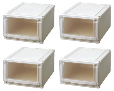 【最大1000円割引クーポン発行中】天馬 (Fits)フィッツユニットケース4025お買い得4個セット新しい発想と知恵が、「収納ケース」を一新しました。