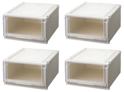 【最大1000円割引クーポン発行中】天馬 (Fits)フィッツユニットケース4525お買い得4個セット新しい発想と知恵が、「収納ケース」を一新しました。