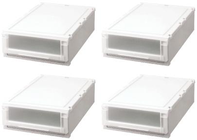 【最大1000円割引クーポン発行中】天馬 (Fits)フィッツユニットケース(L)4418お買い得4個セット新しい発想と知恵が、「収納ケース」を一新しました。奥行74cm(L)シリーズ。