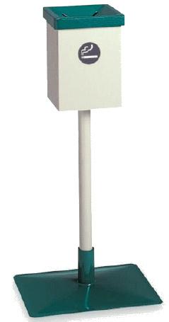 【最大1000円割引クーポン発行中】屋外用灰皿 屋外スタンドD型SS-257-020-0~テラモト~