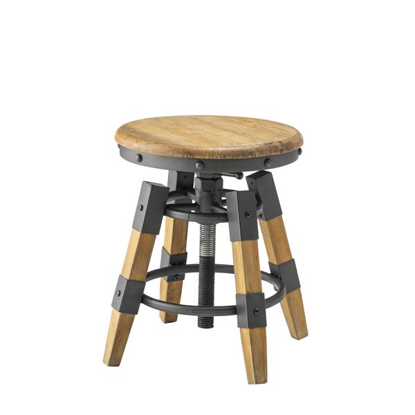 椅子 チェア スチール 天然木 高さ調整 回転 デザイン性 安い おすすめ おしゃれ かっこいい 杉 ラッカー塗装 昇降機能