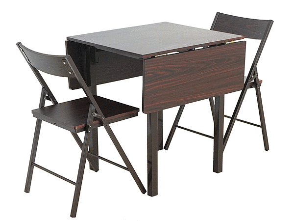 テーブル ダイニングテーブルセット 折りたたみ 椅子 収納 コンパクト バタフライ シンプル おしゃれ 省スペース