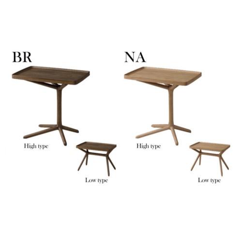 テーブル 天板取り外し トレー 便利 天板運べる サイドテーブル 2WAY 高さ2段階 木製 おしゃれ かっこいい 一人暮らし コンパクト 持ち運び 簡単 完成品