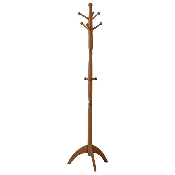 超激安 木のやさしさを感じる 木製ポールハンガー ポールハンガー コートハンガー 服 ロングコート かばん 帽子 木製 モダン かっこいい ぬくもりを感じる 北欧 上質 かわいい ブラウン 木 おしゃれ
