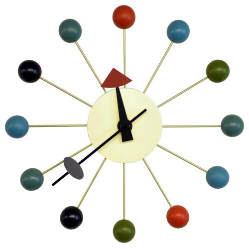 時計 壁かけ ボール スタイリッシュ おしゃれ かわいい かっこいい おすすめ 遊び心 個性 カフェ 店舗 北欧 子供部屋 リビング ボールクロック 立体感