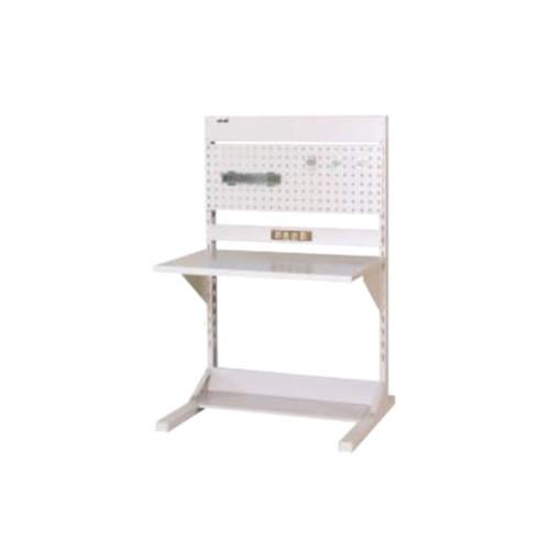 ラインテーブル 幅90cm 高さ140.5cm PCタイプ 片面 単体 作業台 組立台 送料無料