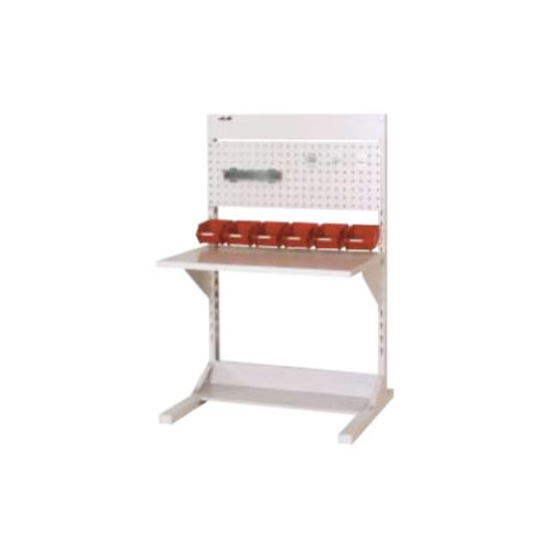 ラインテーブル 幅90cm 高さ140.5cm PYタイプ 片面 単体 作業台 組立台 送料無料