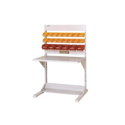ラインテーブル 幅90cm 高さ140.5cm YCタイプ 片面 単体 作業台 組立台 送料無料