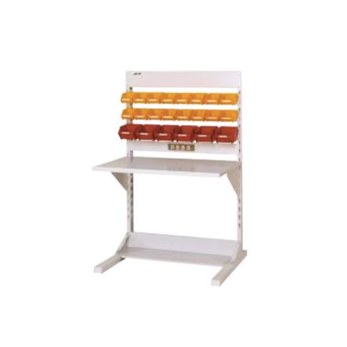 ラインテーブル 幅90cm 高さ140.5cm YCタイプ 片面 連結 作業台 組立台 送料無料