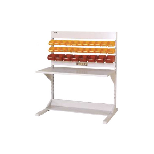 ラインテーブル 幅120cm 高さ140.5cm FYCタイプ 片面 単体 作業台 組立台 送料無料