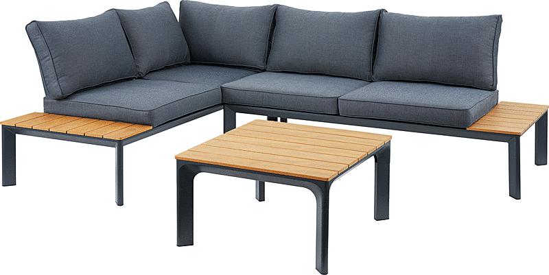 ガーデンソファ テーブルセット おしゃれ かっこいい アウトドア ガーデンテーブル ベランダ リビング デッキ 屋外 屋内 ソファー テーブル