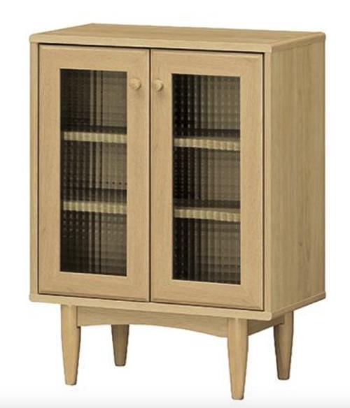 キャビネット 木製 おしゃれ かわいい インテリア 安い 北欧 収納 格安 デザイン ナチュラル 部屋になじむ 落ち着き感 ベーシック 可愛らしさ 一人暮らし