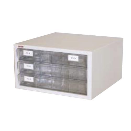 プリンター用紙収納台 1列3段 A3まで収納可 深型トレー 書類整理庫 アレンジャー