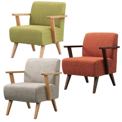 ソファ 椅子 1人用 1p おしゃれ ふかふか 座り心地 一人掛け 天然木 フレーム ウレタン塗装 コットン ポリエステル 北欧 かっこいい かわいい スリム