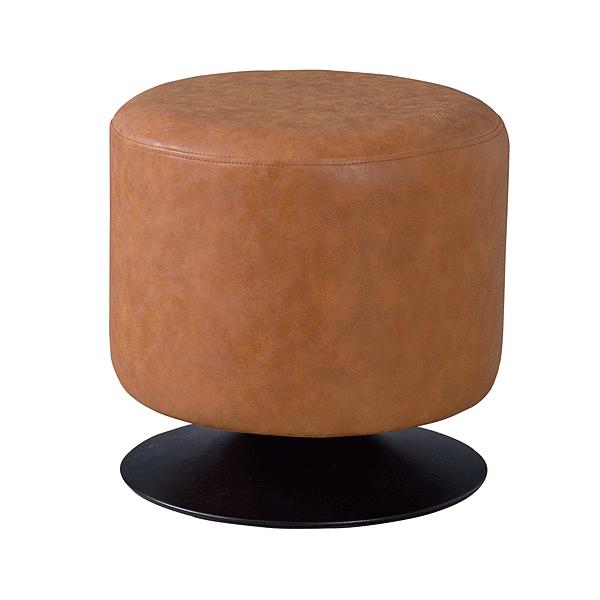 狭い場所でも座りやすく 立ち上がりやすいスツール 椅子 スツール 丸 訳あり 回転 おしゃれ ソフトレザー 肌触り良い グレー ネイビー ブラウン すわりやすい 通常便なら送料無料 ラウンドスツール まったり ブラック かっこいい