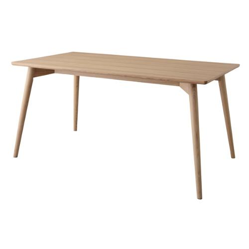 ダイニングテーブル テーブル W150 D80 おしゃれ 安い かっこいい 北欧 シンプル スッキリ ナチュラル ブラウン カフェテーブル 天然木 頑丈 丈夫