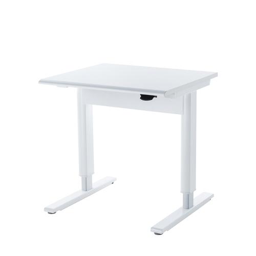 ガス圧式昇降テーブル 昇降テーブル SAEDR-GA8070W 昇降デスク W800xD700mm