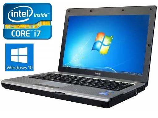 ノートパソコン 中古パソコン Core i7 無線LAN 安心日本製 NEC VersaPro 12.1インチ~ SSD240GB メモリ8GB Windows10 DVDマルチ Office付 テンキー付あり 中古パソコン リフレッシュPC 【中古】 初期設定済み・すぐ使用可能