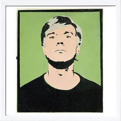アートパネル アートポスター 絵画 インテリア ポスター タペストリー 壁掛け アートフレーム ウォールアート アートボード ポップアート インテリアアート モノトーン アンティーク シンプル 北欧 花アンディー ウォーホル Self-Portrait