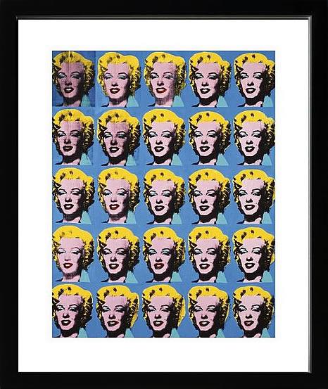 アートパネル アートポスター 絵画 インテリア ポスター タペストリー 壁掛け アートフレーム ウォールアート アートボード ポップアート インテリアアート モノトーン モノクロ アンティーク シンプル 北欧 おしゃれアンディー ウォーホル Twenty-Five Colored Marilyns